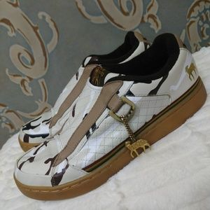 LAMB Camouflage Slip On Sneakers Size 8.5